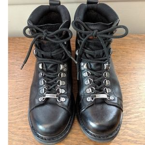 Harley-Davidson Black Moto Boots size 8-1/2